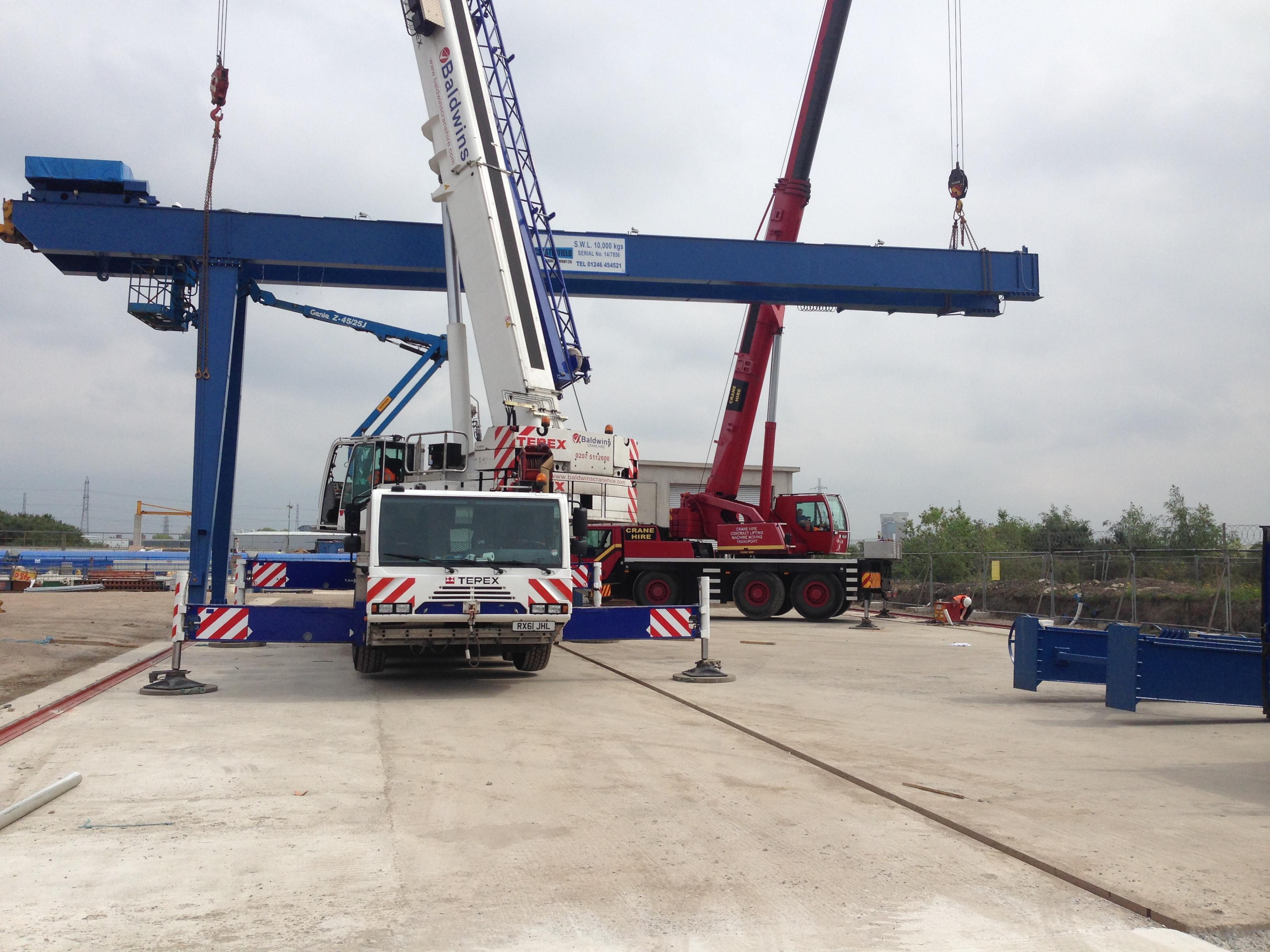 10 000 Kgs Goliath Crane Chesterfield Crane Company