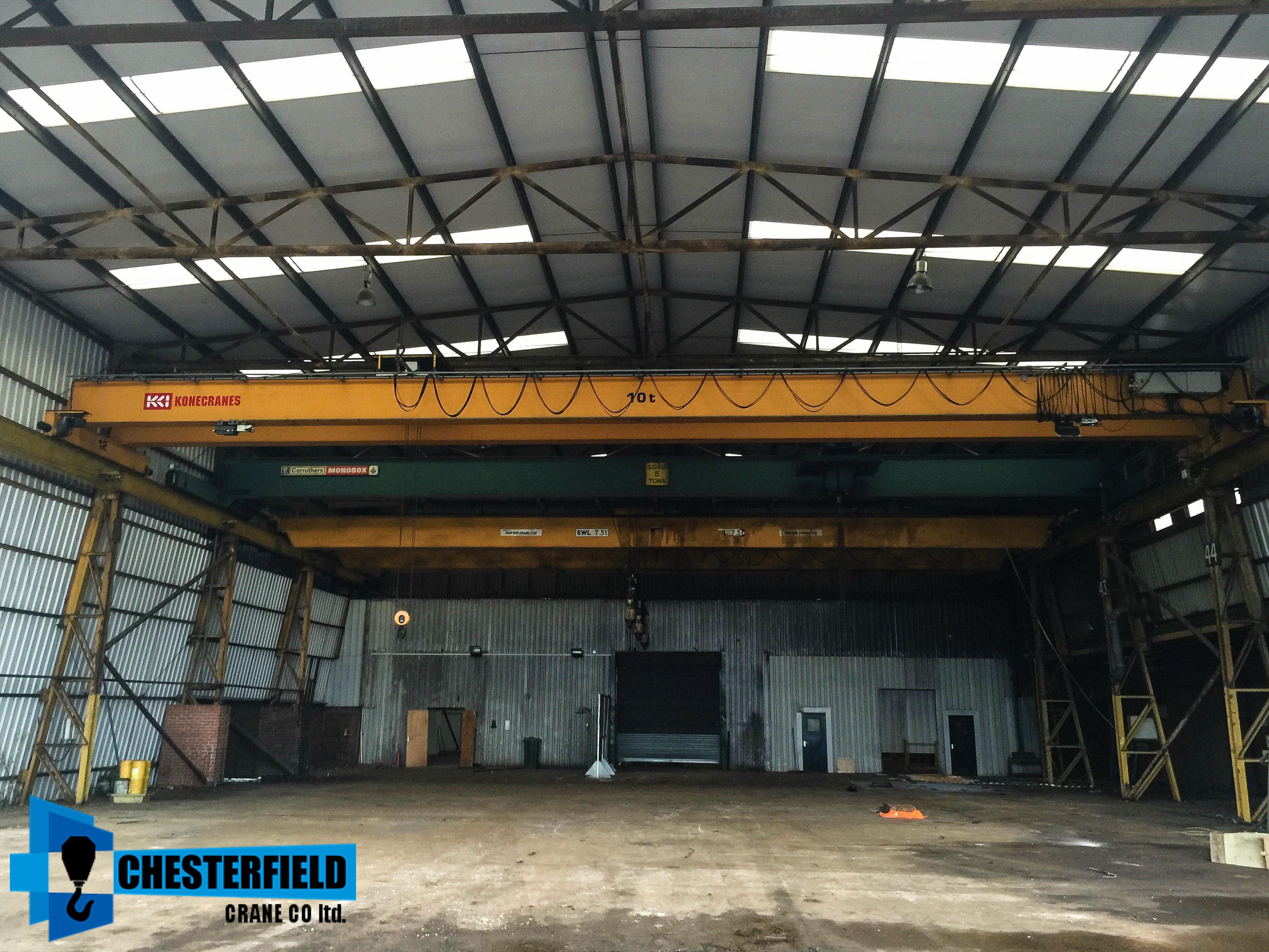 Used KONE Overhead Crane