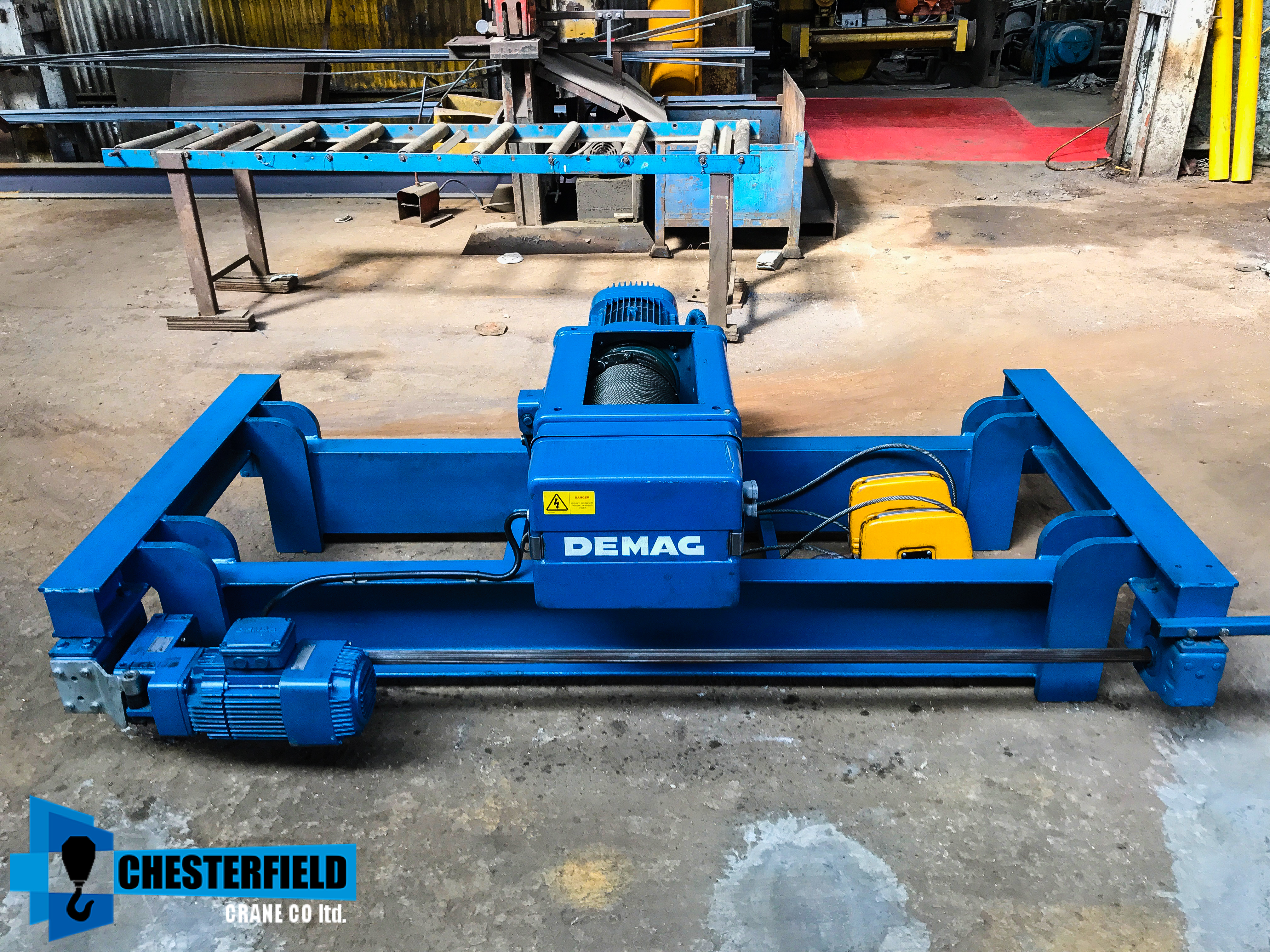 Wire Rope Hoist, Electric Mobile Hoist For Sale Uk | ChesterfieldCrane