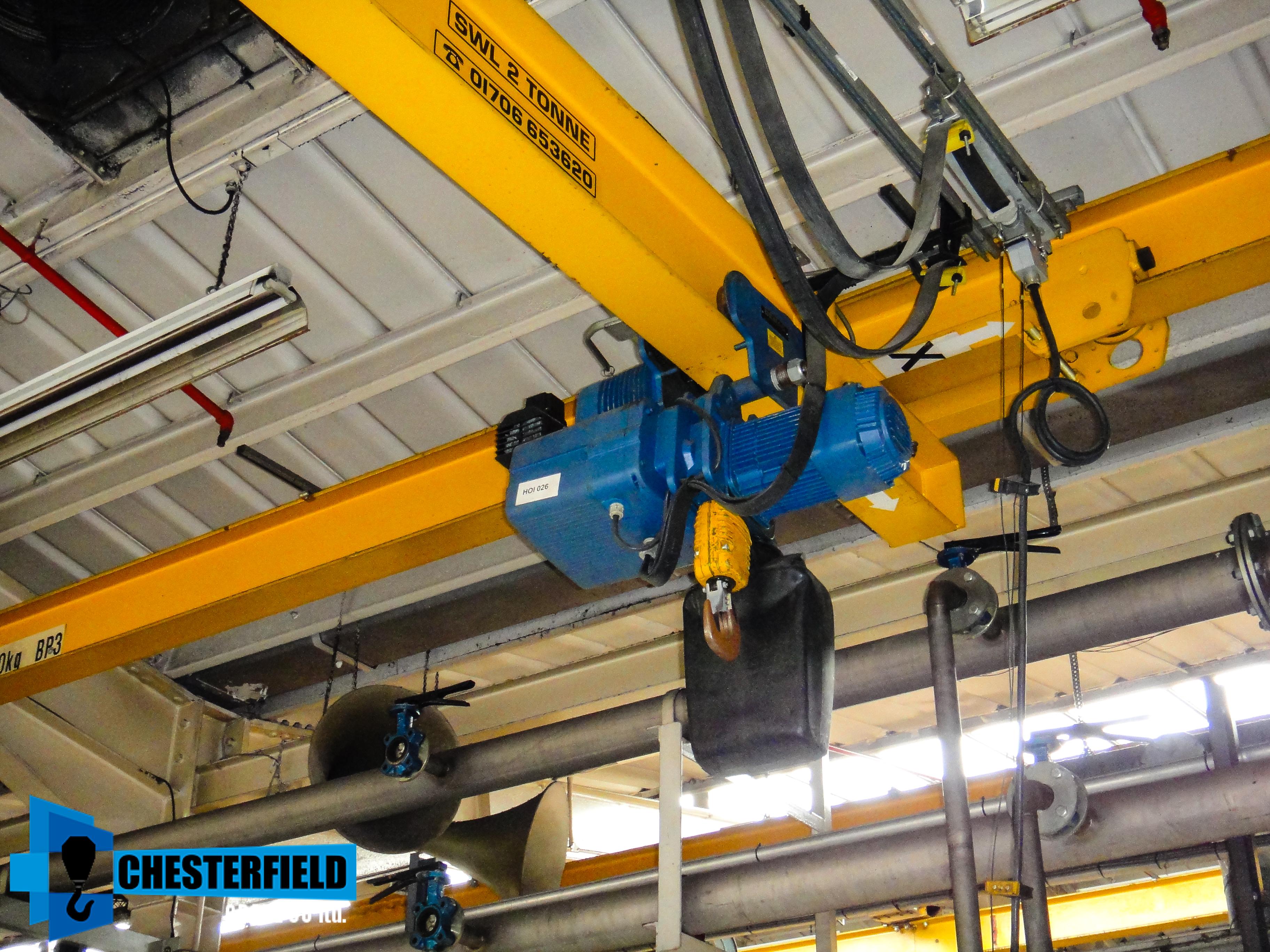 Overhead Crane Parts Uk : Used granada tonne metre underhung mounted overhead