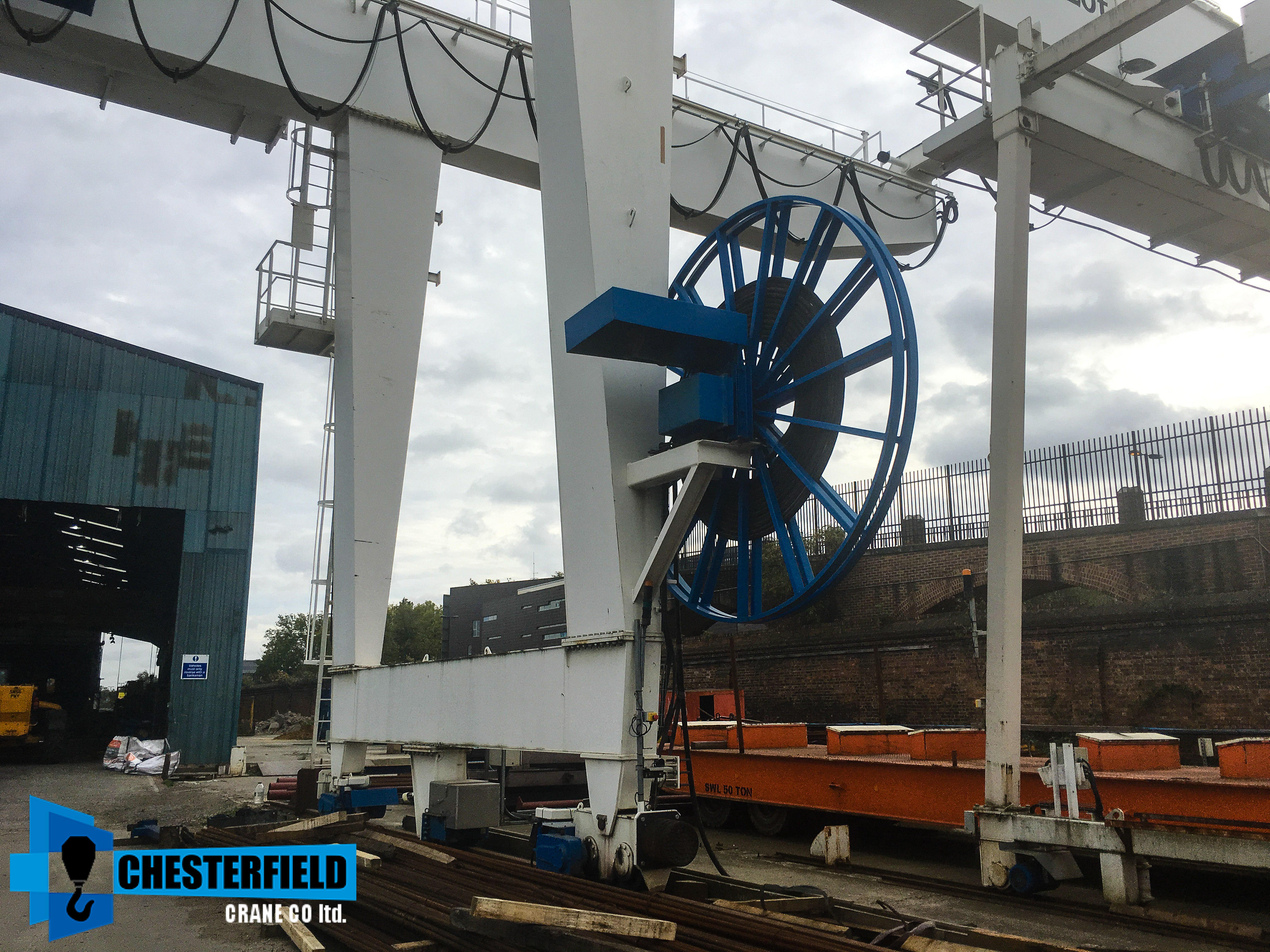 2aed7828e537f Used 2012 GH 20 Tonne 51 Metre Goliath Gantry Crane for Sale ...